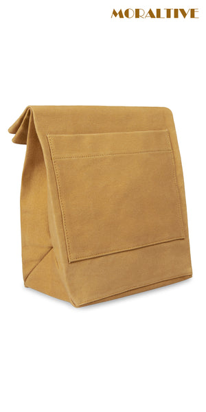Lunch bag - khaki canvas