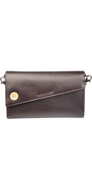 Moraltive Clutch wallet - Brown