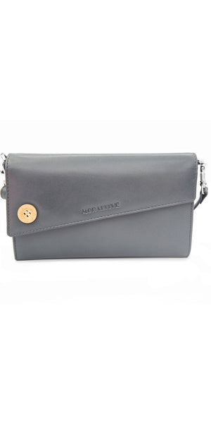 Moraltive Clutch wallet - Grey