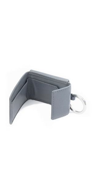 Moraltive Keyring with Purse - Grey