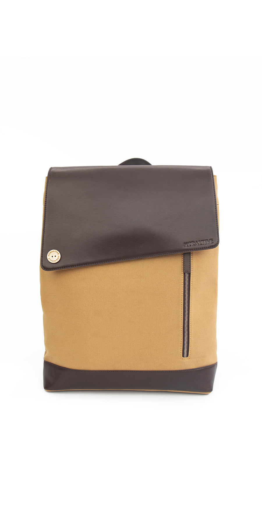 Moraltive Rucksacks - Khakhi & Brown