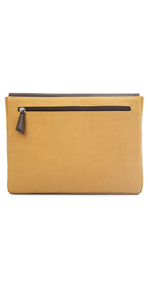 Moraltive Laptop Sleeves - Khakhi & Brown