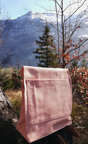 Moraltive Lunch Bags - Salmon Pink