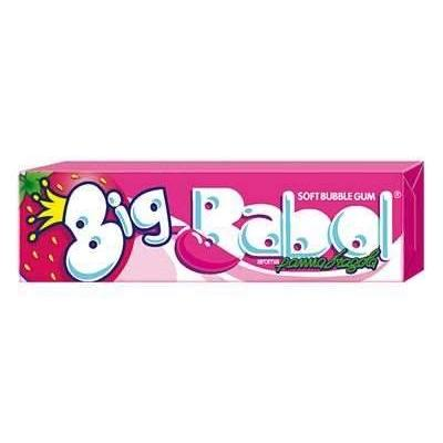 BIG BABOL CHEWING GUM MEGA STRAWBERRY GR 37 X 24
