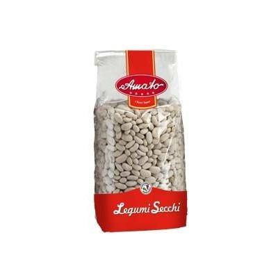 AMATO LEGUMES GR 500 DRY CANNELLINI BEANS IN BAG X 20