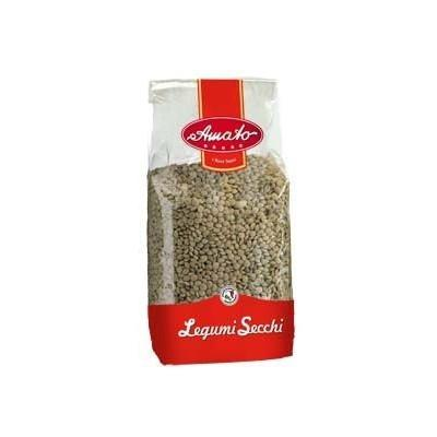AMATO LEGUMES GR 500 DRY LENTILS IN BAG X 20