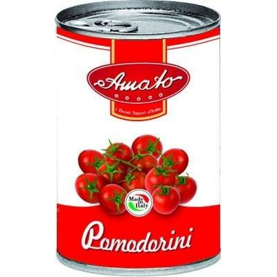 AMATO CHERRY TOMATOES GR 400 IN TIN X 24