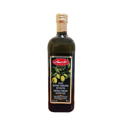 AMATO EXTRA VIRGIN OLIVE OIL 100 % ITALIAN LT 1 X 12
