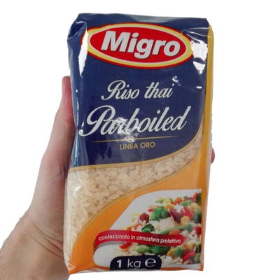 MIGRO RICE GOLD QUALITY KG 1 PARBOILED THAI X 10