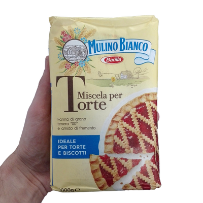 MULINO BIANCO BAKING FLOUR KG 1 FOR PASTRIES X 10