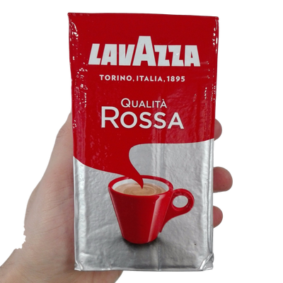 LAVAZZA GROUND COFFEE GR 250 ROSSA RED X 20