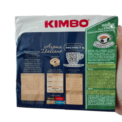 KIMBO GROUND COFFEE GR 250 X 2 AROMA ITALIANO X 10