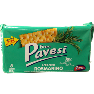 GRANPAVESI CRACKER GR 280 ROSEMARY X 12