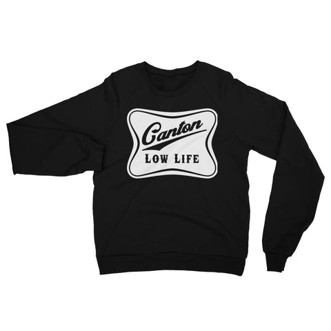CANTON LOW LIFE CREW NECK Unisex California Fleece Raglan Sweatshirt