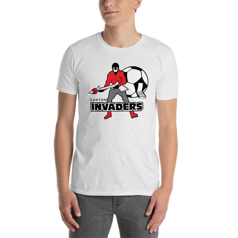 CANTON INVADERS WHITE Short-Sleeve Unisex T-Shirt