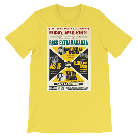 VINTAGE FIRST FRIDAY BUZZBIN POSTER T-Shirt