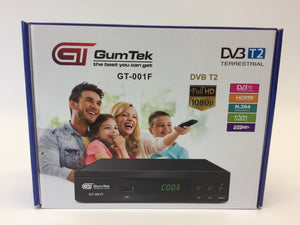 GumTek Full HD Freeview Set Top Box Plus Recorder Digital TV Receiver Digi Box 2019 software