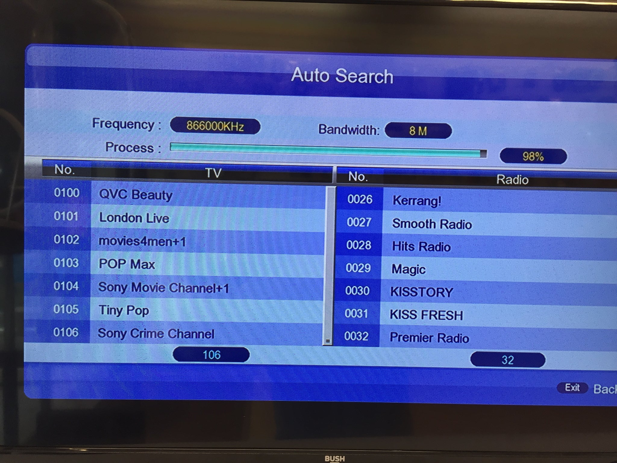 Freeview TV box