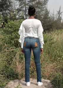 Plain Jane Washed Denim - DEO Jeans Online