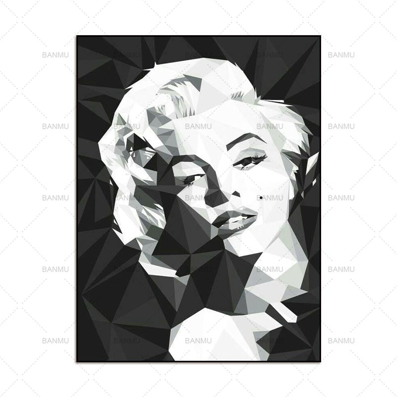 Wall Art Picture prints Marilyn Monroe on canvas home decor Canvas ...