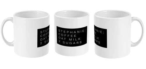 Personalised Tea/Coffee Order Mug