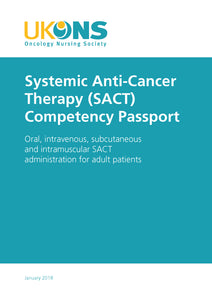 Systemic Anti-Cancer Therapy (SACT) Competency Passport