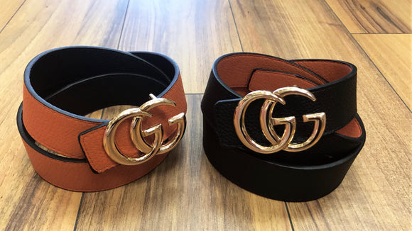 Gold G inspired Belts