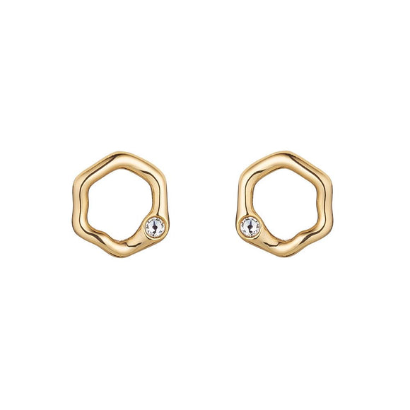 Janine Golden Earrings