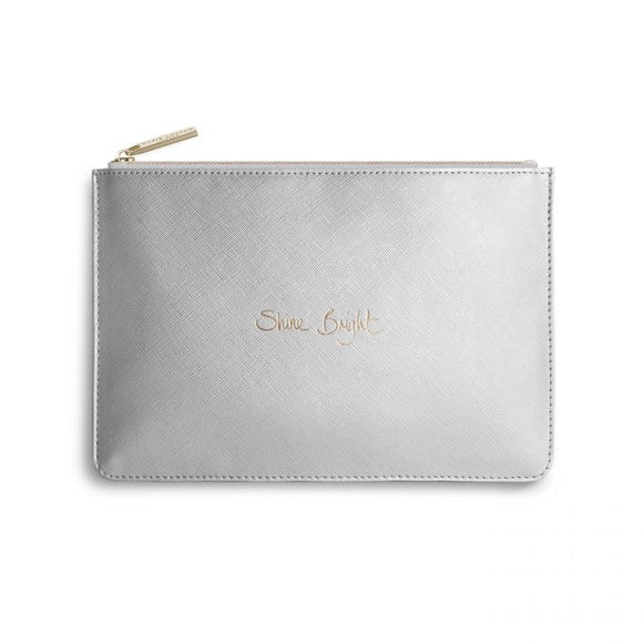 Perfect Pouch - Shine Bright - Metallic Silver
