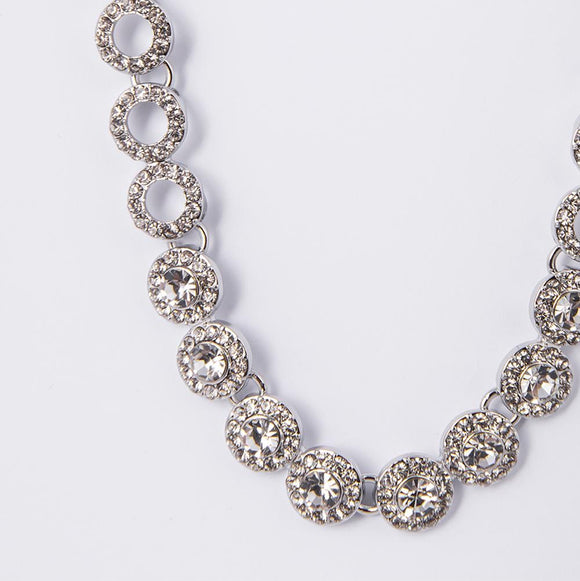Gabriela Rhodium Necklace
