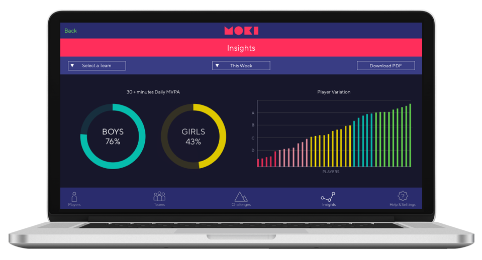 Moki App - Insights