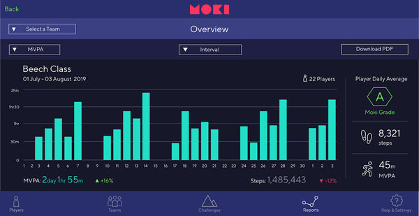 Moki 1.2.0 - Team Overview