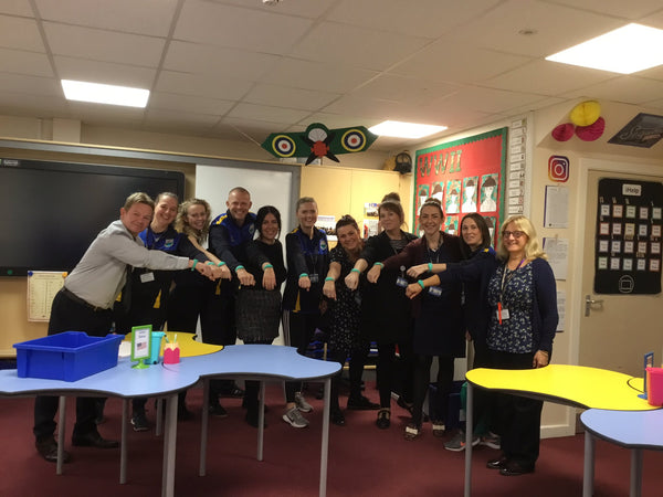 Water Primary - Staff getting involved with Moki