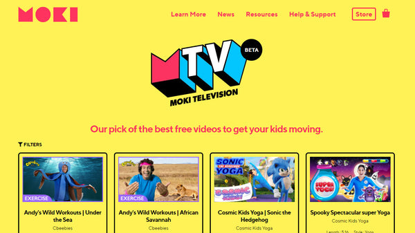Moki TV - Free Videos to get your class moving