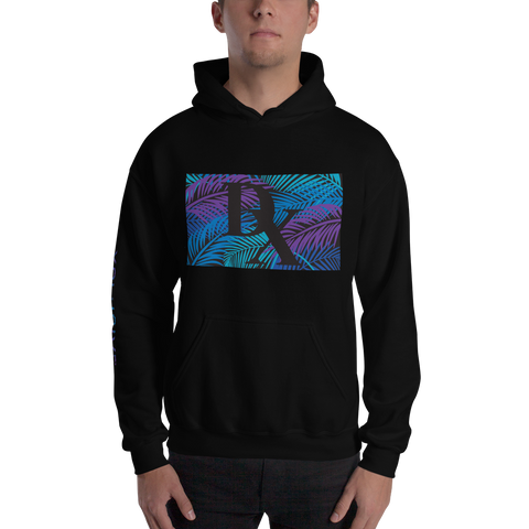 "XCLUSIVE ""Up Front"" Purple Oasis Hoodie"
