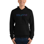 XCLUSIVE Purple Oasis Palm Hoodie