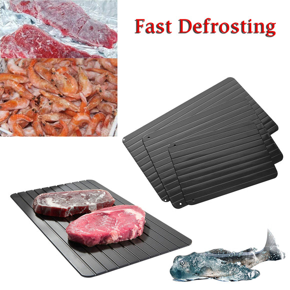 Magic Metal Plate Defrosting Tray