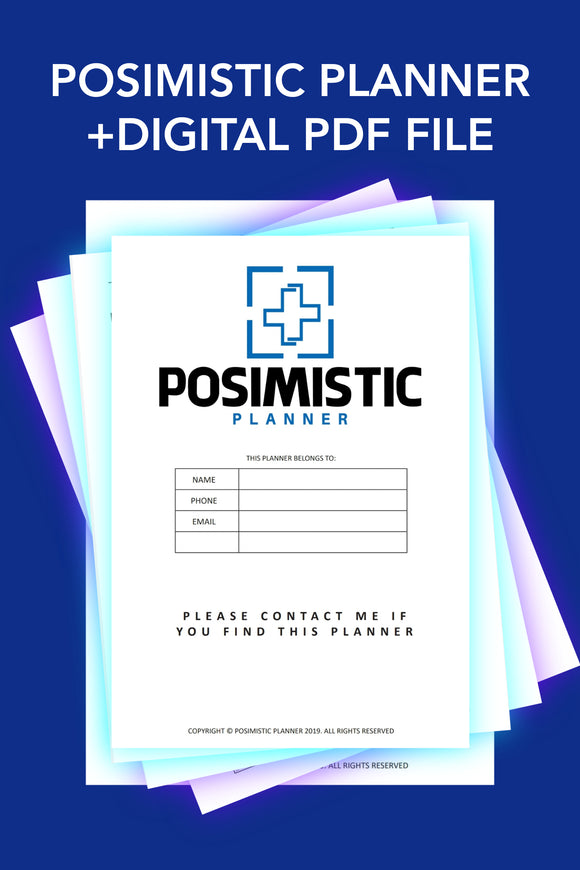 Posimistic Planner Digital Pages