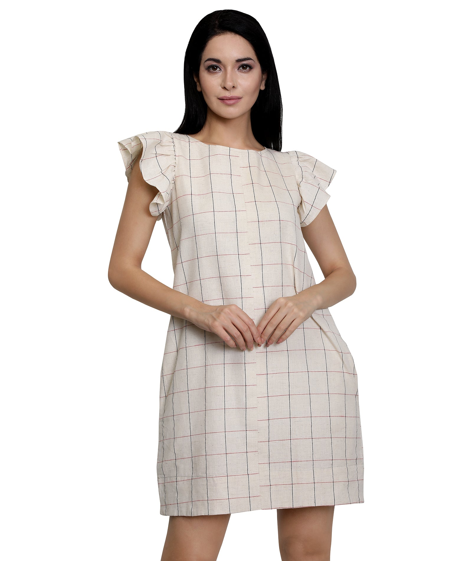 Checked Dresses for Women Online In India