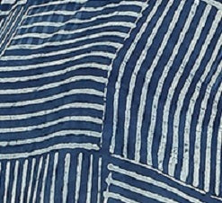 Summer Barn - Indigo and Handloom Cotton Resort Dress - Fabric View