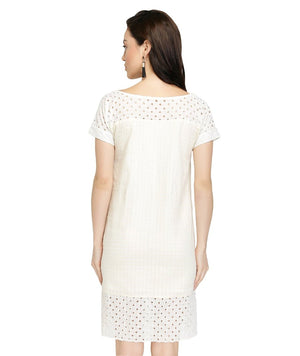 SB36 - Dobby - Broderie Anglaise Summer Dress
