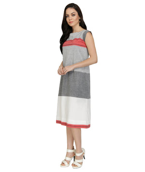 Striped Western Dress For Women Online India