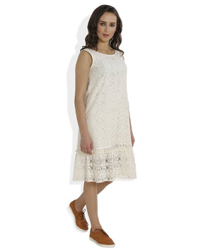 Summer Barn - Crochet Drop Waist Beach Dress - Right View