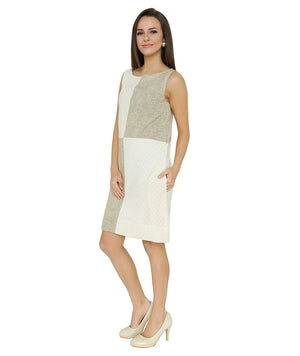 Cotton Handloom Dress for Women