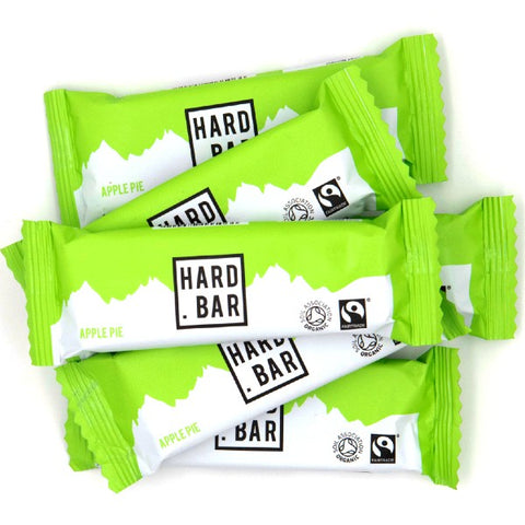 Organic Hard Bar Variety Pack - 12 Bar Box [flavour mix changed during May as a result of COVID supply chain disruption]