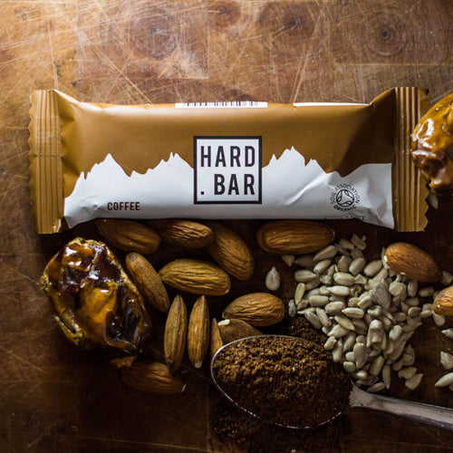 Organic Coffee Hard Bar - 10 Bar Box