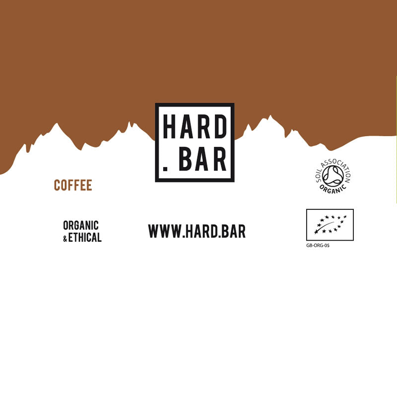 Organic Coffee Hard Bar - 12 Bar Box - Now available to order - shipping 27th May