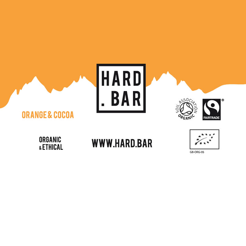 Organic Orange & Cocoa - 12 Bar Box (Sorry out of stock for a bit)