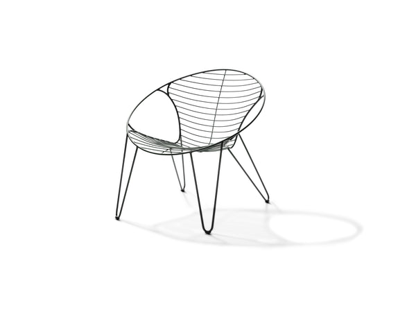 Wire Lounge Chair Joli - zonnewende