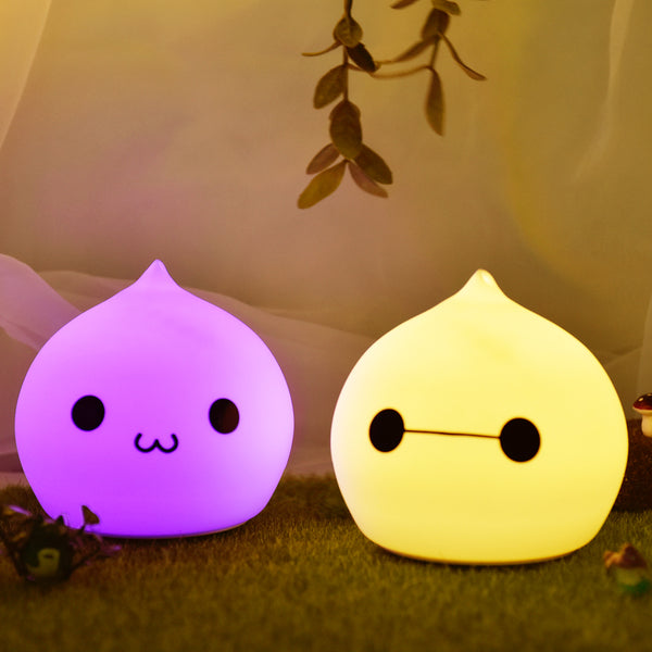 Kitty Cat Night Light: Tap To Turn On/Off